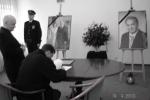 1. Wpis do Księgi Kondolencyjnej - miniatura z galerii zdjęć (otwórz zdjęcie w powiększonej wersji)