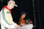 Występ artystyczny mieszkańców DPS w Foluszu - miniatura z galerii zdjęć (otwórz zdjęcie w powiększonej wersji)