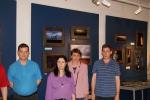 Mieszkańcy DPS przed wystawą muzealną - miniatura z galerii zdjęć (otwórz zdjęcie w powiększonej wersji)