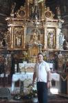 Ołtarz głównej kościoła w Binarowej - miniatura z galerii zdjęć (otwórz zdjęcie w powiększonej wersji)