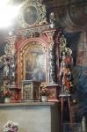 Ołtarz boczny kościoła w Binarowej - miniatura z galerii zdjęć (otwórz zdjęcie w powiększonej wersji)