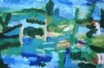 Maria Delimat - Turkusowy park - pastela.jpg - miniatura z galerii zdjęć (otwórz zdjęcie w powiększonej wersji)