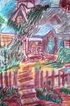 Wiesław Surowa - Dom w ogrodzie - pastele.jpg - miniatura z galerii zdjęć (otwórz zdjęcie w powiększonej wersji)