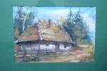 Bogusław B - Chata pod lasem -akwarela.jpg - miniatura z galerii zdjęć (otwórz zdjęcie w powiększonej wersji)