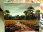 Bogusław B  -Chata w lesie - olej.jpg - miniatura z galerii zdjęć (otwórz zdjęcie w powiększonej wersji)